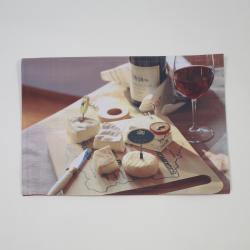 Mantel individual foto quesos