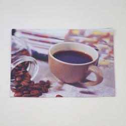 Mantel individual foto taza cafe