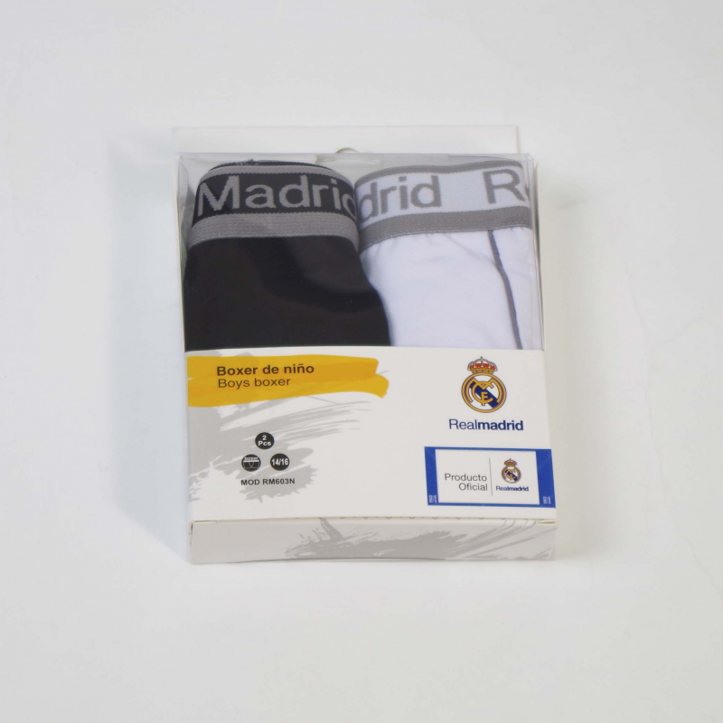 BOXER NIÑO REAL MADRID 603N SET 2 UNIDADES