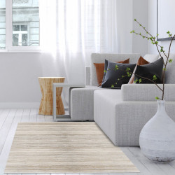 Alfombra bambú yeso 120x180 cm