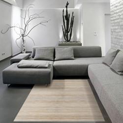 Alfombra bambú yeso 160x240 cm