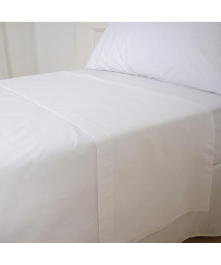 S bana encimera blanca poli ster algod n diezxdiez - Ropa de cama para hosteleria ...
