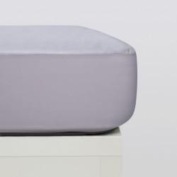 Protector colchón tencel gris