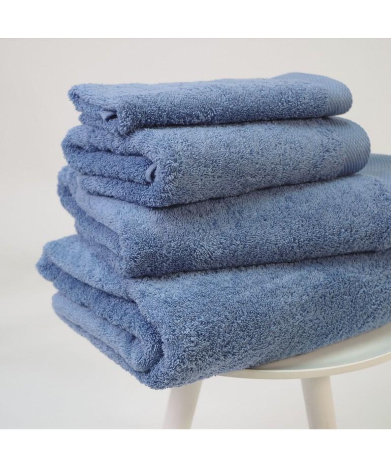 10XDIEZ Toalla algod/ón 550 gr//m2 Azul tocador Medidas Toallas 30cm x 50cm