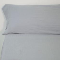 Juego de sábanas sunwashed gris