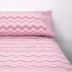 Juego de sábanas riga rosa