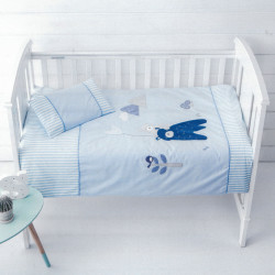 Funda nordica cuna duo bedding rabbit