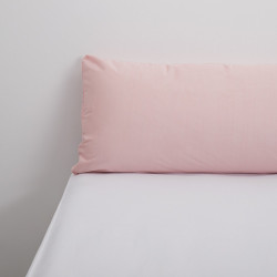 Funda almohada tencel rosa