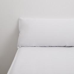 Funda almohada tencel blanco