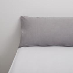 Funda almohada tencel gris