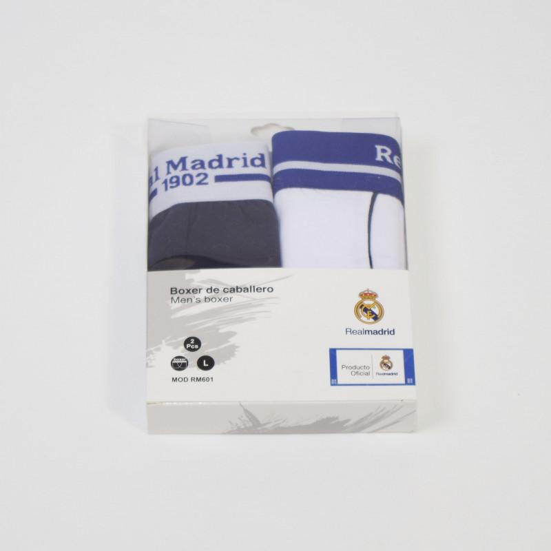 BOXER REAL MADRID ADULTO 601 SET 2 UNIDADES