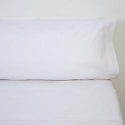 Juego de sábanas blancas hosteleria