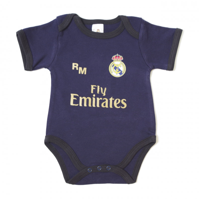 Body bebe real madrid 814 marino-negro