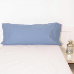 Funda almohada azul indigo 18 basic