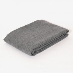 Foulard chenilla gris