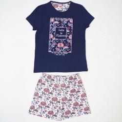 Pijama mujer manga corta kn-510