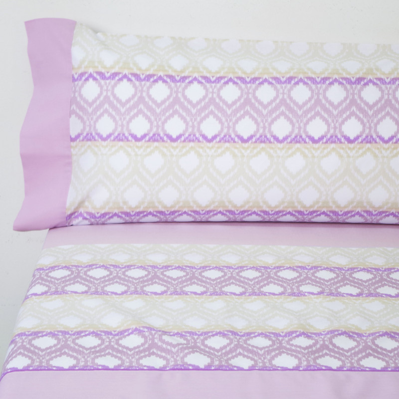 Juego de sábanas barbara rosa