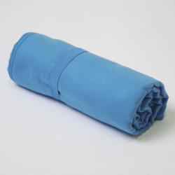 Toalla microfibra azulón