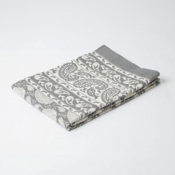 Foulard multiusos handmade cashemir gris 3