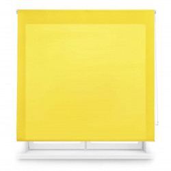 Enrollable tejido translúcido amarillo