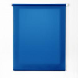 Enrollable tejido translúcido azulón