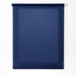 Enrollable tejido translúcido azul marino