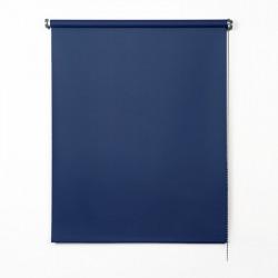 Enrollable tejido opaco azul marino