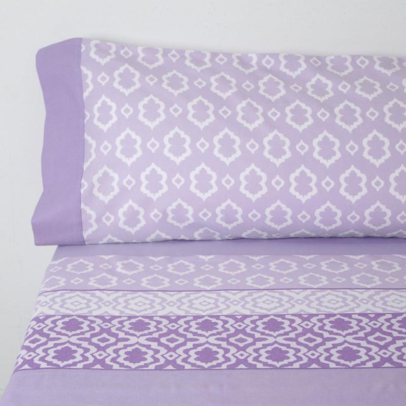 Sábanas franela sofía lila