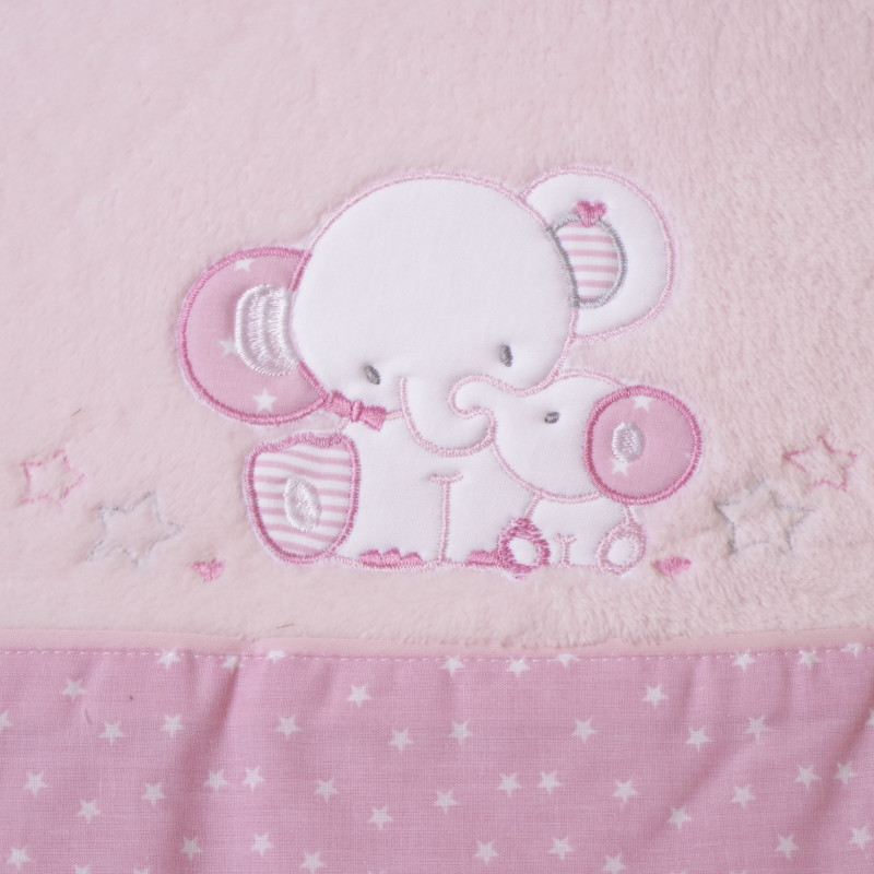 Juego de sábanas cuna coralina 084 rosa