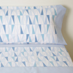 Juego de sábanas cleo azul