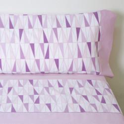 Juego de sábanas cleo rosa