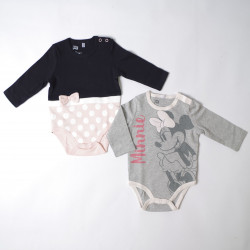 Body minnie pack 2 unidades