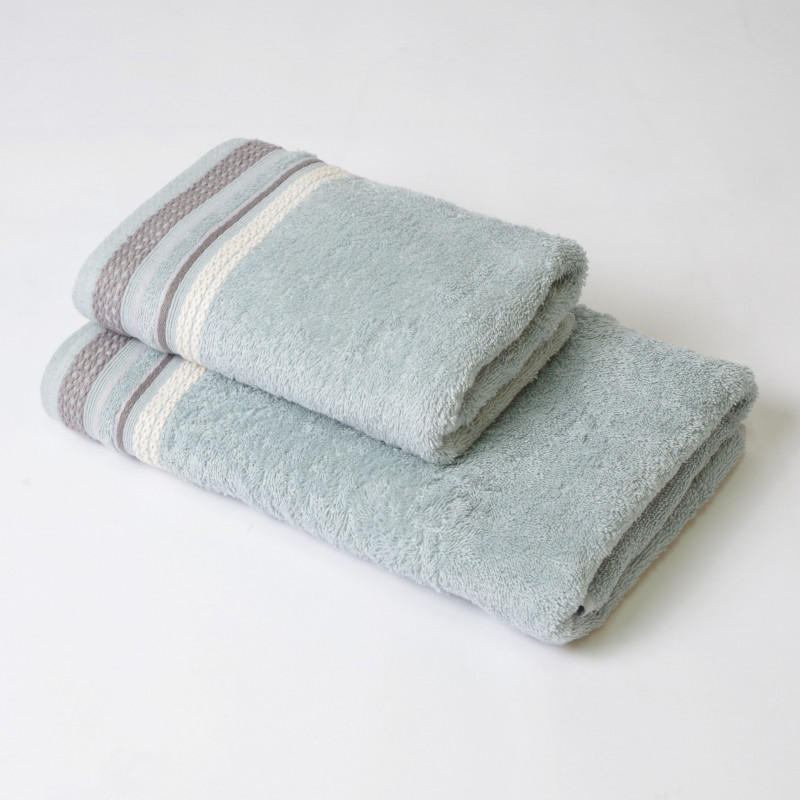 Juego de toallas 2p scarlett acqua