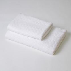 Juego de toallas 2p angie blanco