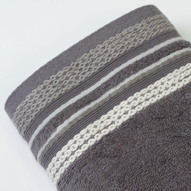 Juego de toallas 2p scarlett plomo