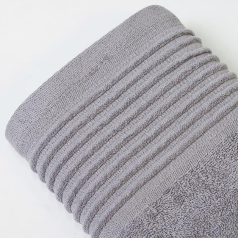 Juego de toallas 2p kate gris aluminio