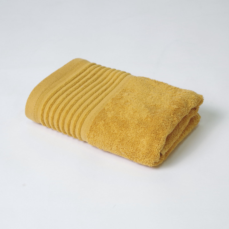 Juego de toallas 2p kate mostaza
