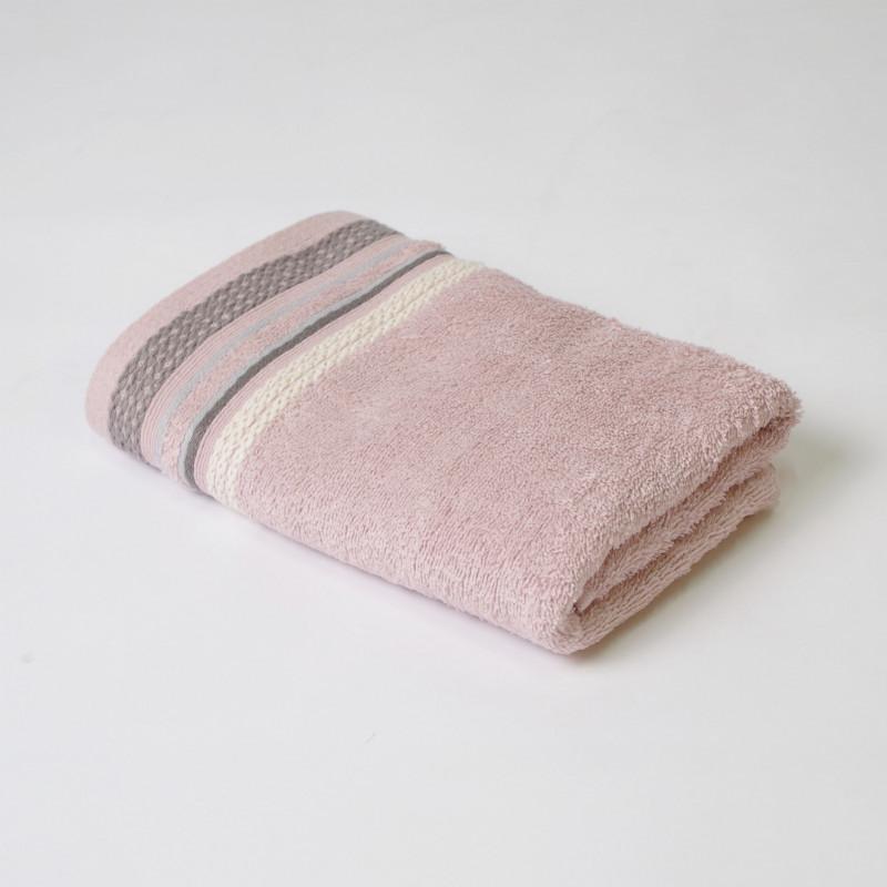 Juego de toallas 2p scarlett rosa