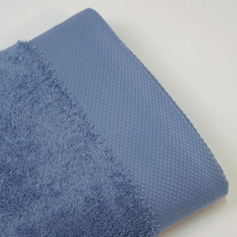 Toalla algodón orgánico 600 gr/m2 indigo