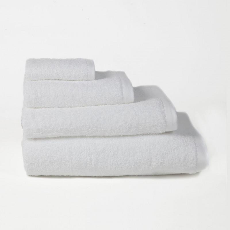 Toalla algodón peinado 500 gr/m2 blanco