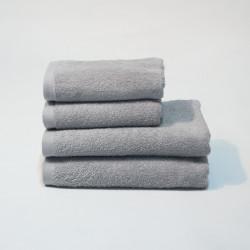 Toalla algodón 550 gr/m2 aluminio