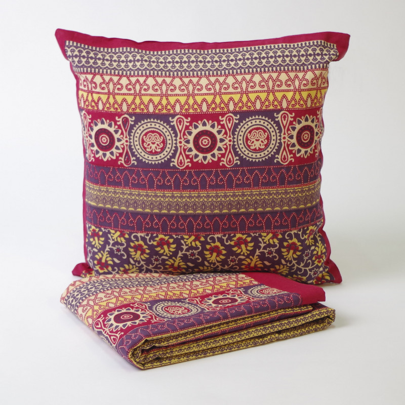 Foulard multiusos handmade mod. 8 rojo