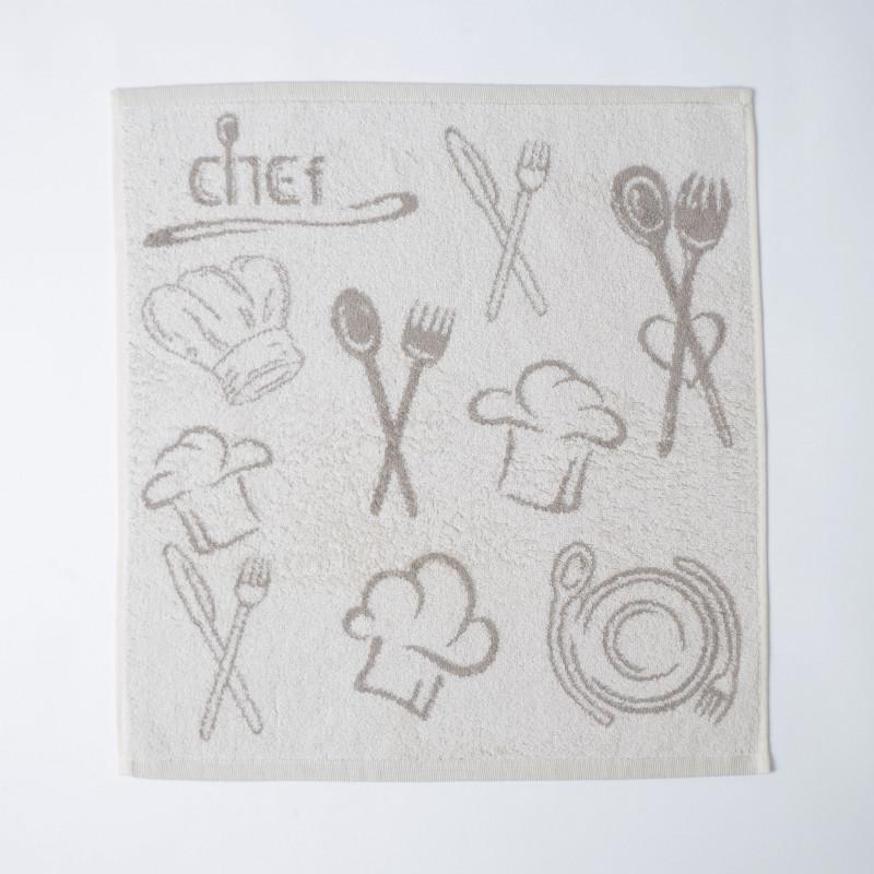 Paño de cocina rizo chef 10117