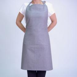 Delantal apron gris