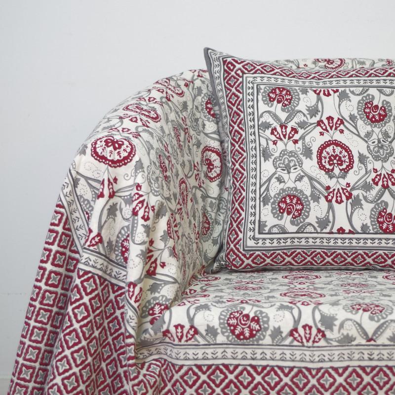 Foulard multiusos handmade mod. 7 burdeos