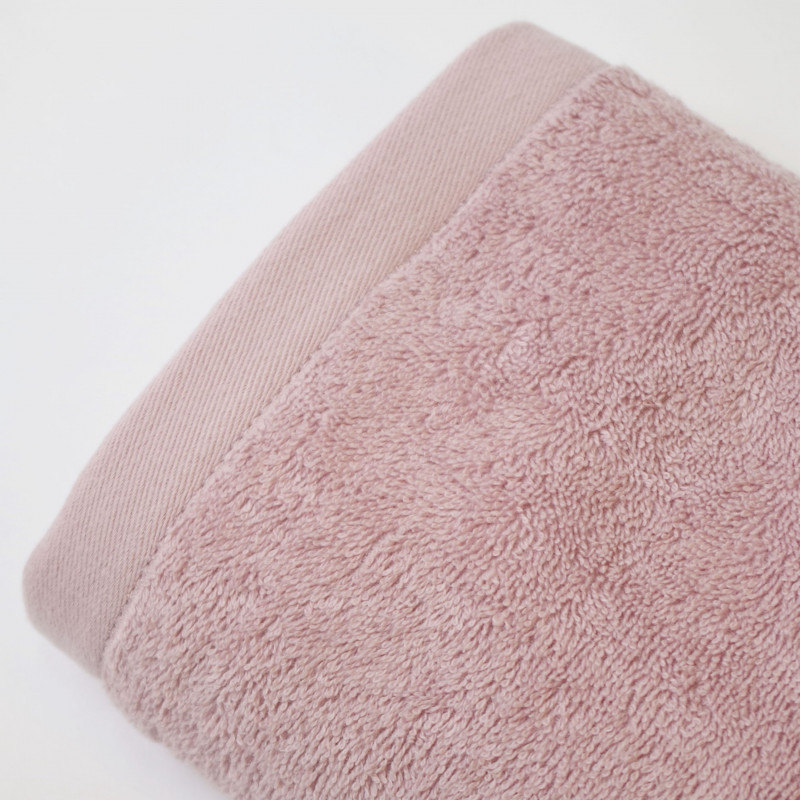 Toalla algodón 550 gr/m2 rose
