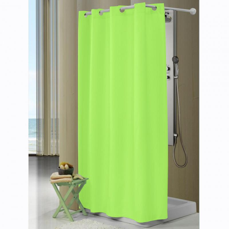 Cortina de baño 610 verde