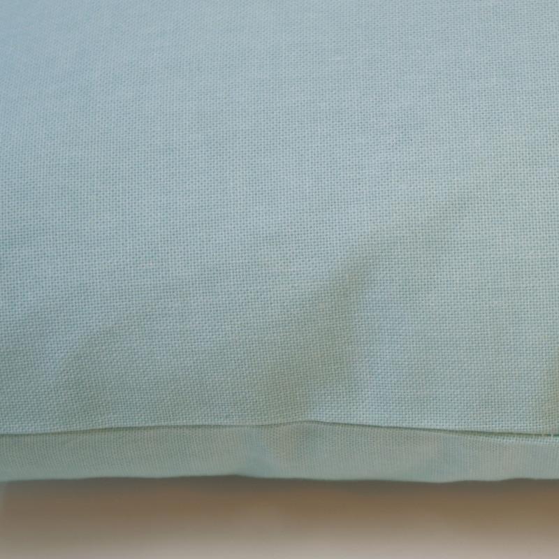 Funda de cojín 43x43 loneta lisa c/acqua