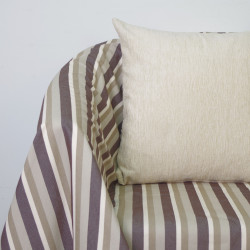 Foulard multiusos sobek rayas marrón