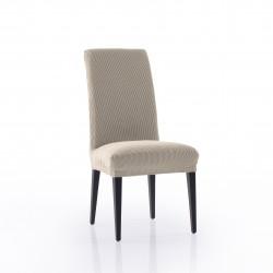 Funda silla con respaldo rustica 2p.